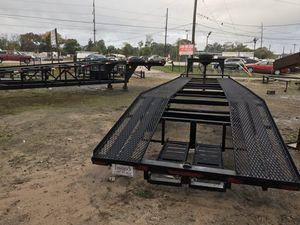 New Gooseneck Two Car Hauler Trailer for Sale in Houston, TX