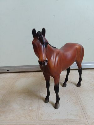 "Breyer Reeves Horse Chocolate Brown And Black 7.5""H 8.0L. for Sale in Adelphi, MD"