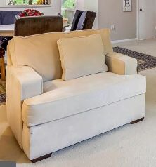 Oversized Chair (Cream Lounge ) for Sale in Washington, DC
