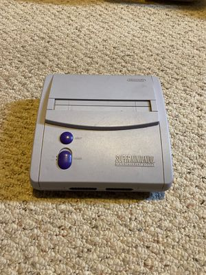 Super Nintendo SNS-101 console only for Sale in Stanwood, WA