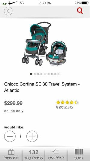 Travel system stroller for Sale in Cleveland, OH