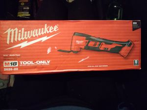Milwaukee M18 Multi-Tool. The tool only. Brand new. Never used. for Sale in Riverside, CA