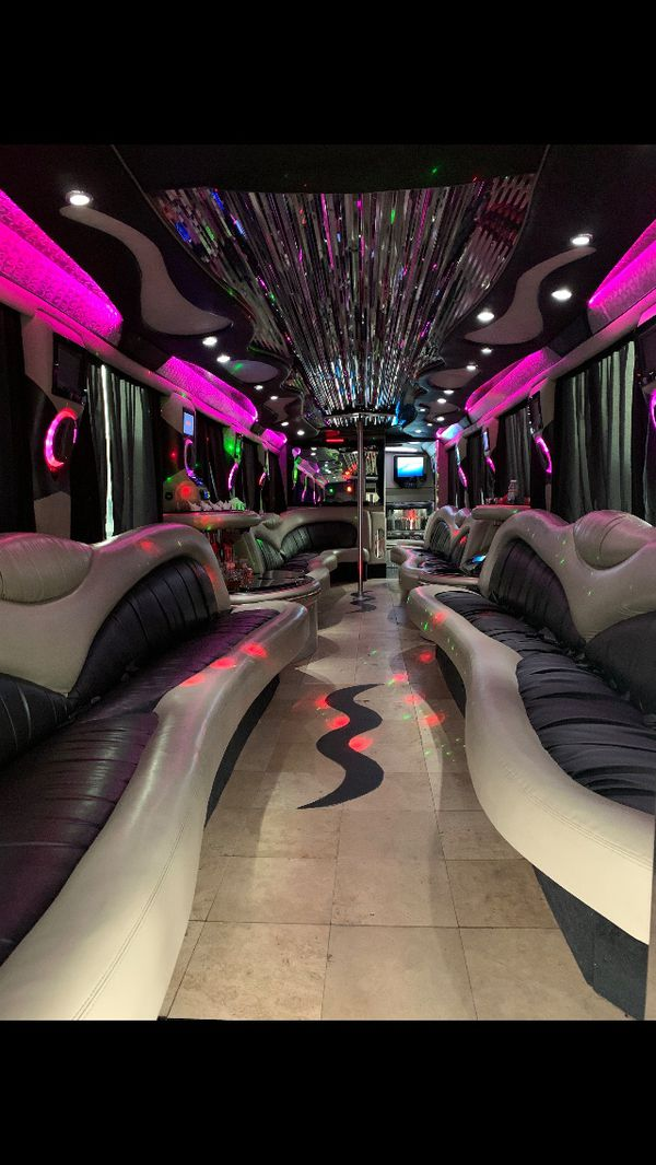 Luxury Party Buses