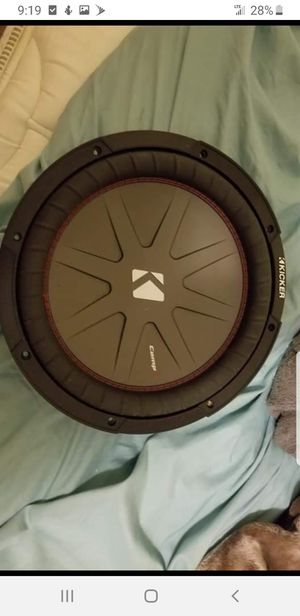 "Good subwoofer 12"" for Sale in Alexandria, VA"