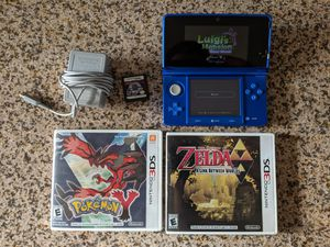 Nintendo 3DS with games for Sale in Tempe, AZ