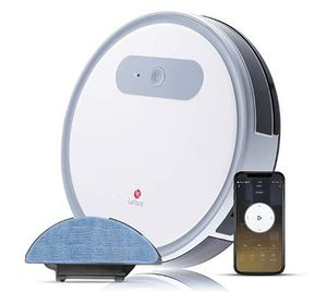 Lefant Robot Vacuum and Mop, M501-A Robotic Vacuums Cleaner, Wi-Fi Connectivity, 2000Pa Power Suction, Compatible with Alexa and Google, Self Charging for Sale in Rancho Cucamonga, CA