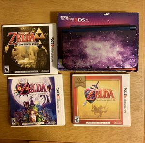 Nintendo 3DS Xl with 3 Games for Sale in Anaheim, CA