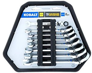 Kobalt 8-piece Metric Ratcheting Wrench Set for Sale in Columbus, OH