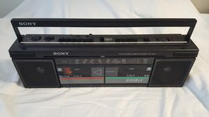 Sony radio with cassette player CFS w30 for Sale in North Potomac, MD