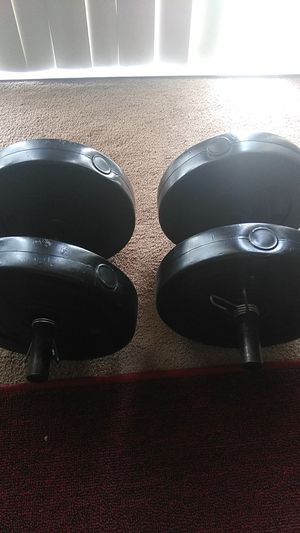 Two 20 pound dumbbells for Sale in Fresno, CA