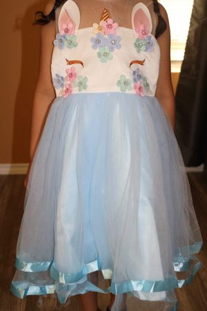 Unicorn dress for Sale in Cedar Creek, TX