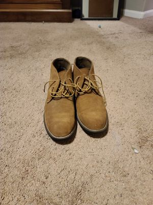 Bruno Marc: Men's Suede Leather Lace Up Oxfords Chukka Ankle Boots size 9.5 for Sale in Phoenix, AZ