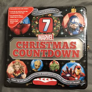 Marvel Avengers Countdown to Christmas Advent Calendar for Sale in Colma, CA