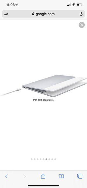 Google Pixelbook and Stylus with free brand new carrying case! for Sale in Paducah, KY