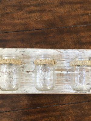 Reclaimed Wood Mason Jar Wall Decor for Sale in Fort Worth, TX