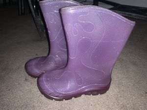Girl rain boots for Sale in Fontana, CA