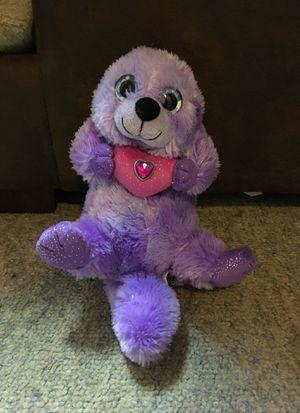 Purple otter stuffed animal for Sale in Marietta, GA