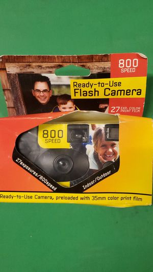 New Ready-to-use Flash Camera 800 Speed/27 EXP for Sale in Carlsbad, CA