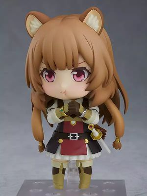 Japanese Anime nendoroid the rising of the shield hero raphtalia movable action figure toy 3.9inches for Sale in Rosemead, CA