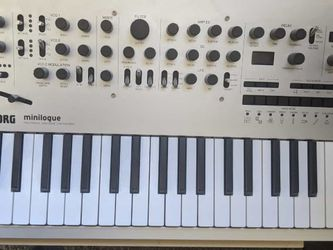 Korg Minilogue Anolog Synth for Sale in Los Angeles,  CA