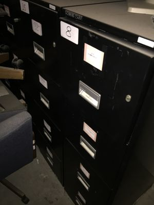 25 filing cabinets 10 are Schwab 2500 firesafe other 15 are Devon and others for Sale in Menlo Park, CA