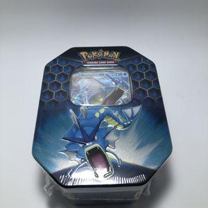 Pokémon Hidden Fates Gyarados Tin for Sale in Portland, OR