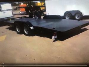 20ft' car hauler 2019 for Sale in McKinney, TX