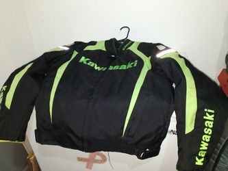 Kawasaki motorcycle jacket for Sale in Atlanta,  GA