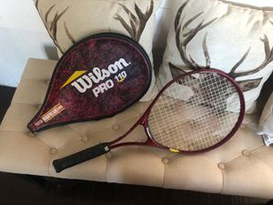 Wilson pro 110 tennis racket for Sale in Federal Way, WA