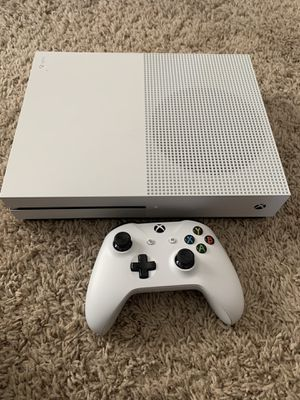Xbox One S 500gb with Seagate 2gb hard drive for Sale in Cary, NC