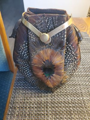 Antique pheasant feather bag for Sale in Federal Way, WA