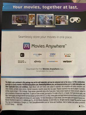 Disney movie Frozen 2 digital code HD Movie for Sale in Los Angeles, CA