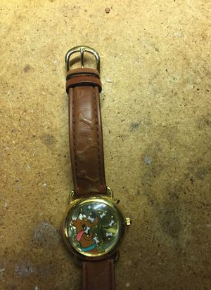 Walt Disney Scoobie Doo wrist watch that also plays music. Great collectible watch. Thailand movement. 1998 Hanna Barbera antique for Sale in Greer, SC