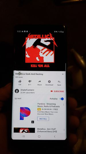 Samsung note 8unlocked phone for Sale in Riverside, CA