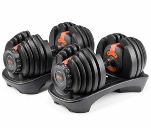 Brand New Bowflex 552 SelectTech - PAIR SET Adjustable Dumbbells Two dumbbells Home fitness for Sale in Fairfax, VA
