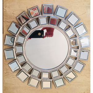 "Mosaic round accent mirror 16""x16"" for Sale in Palm Springs, CA"