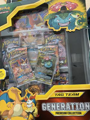 *New* Pokemon Tag Team Generarion premium collection for Sale in Lynnwood, WA