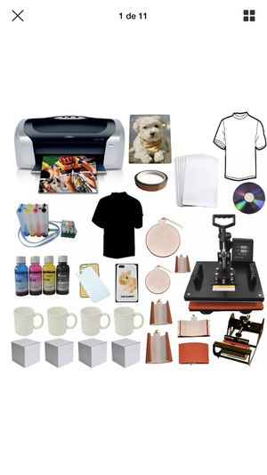 Sublimation printer and press machine for Sale in Lynnwood, WA