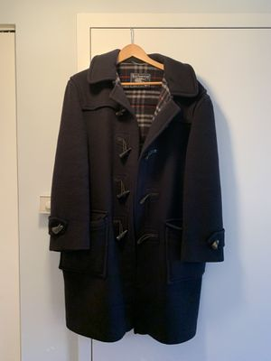 Burberry Men's Duffle Wool Coat, Size L for Sale in Brooklyn, NY