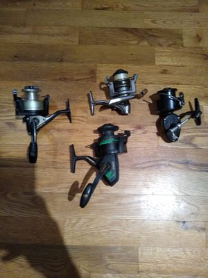 Old fishing reels for Sale in Woodinville, WA