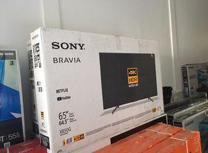 "65"" Sony Bravia smart 4K UHD tv for Sale in Jurupa Valley, CA"