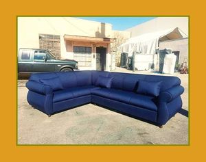 "new 7x9 ft ""Domino navy"" sectional couches for Sale in Los Angeles, CA"