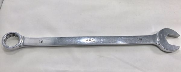 Mac tools 19mm combination wrench
