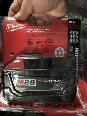 M28 28-Volt Lithium-Ion XC Extended Capacity Battery Pack 3.0Ah for Sale in Chicago, IL
