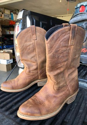 Work boots western style laredo size 9.5 D for Sale in San Diego, CA