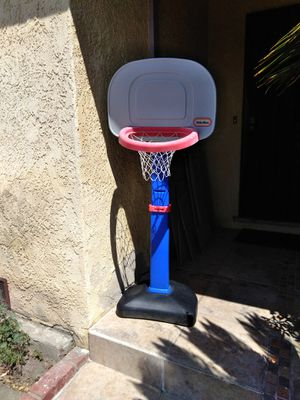 LITTLE TIKE ADJUSTABLE BASKETBALL HOOP for Sale in Downey, CA