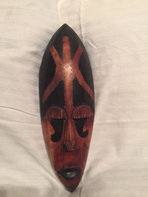Handcrafted Ghana Wood Mask for Sale in Minocqua, WI