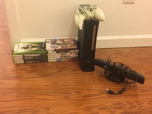 Xbox 360 with 11 GAMES! for Sale in Haslet, TX