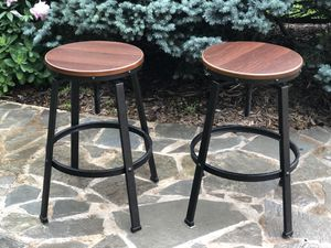 2 industrial bar stools for Sale in Centreville, VA