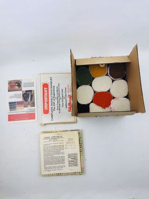 Vintage Shillcraft Latchhook Readicut Kit for Sale in Mint Hill, NC